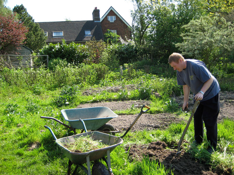 Gardening is healthy, productive and fun